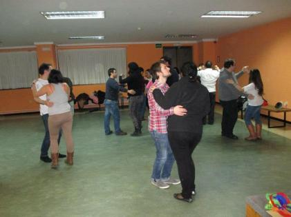 Actividad: bailes de salón