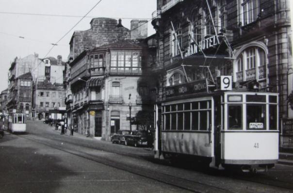 Tranvía de Vigo en los años 50