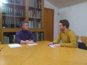 Encuentro del grupo de trabajo 152.B00 con Santi Montes.