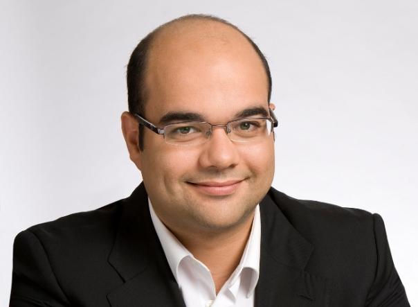 Rubén Cela, portavoz e responsable local do BNG en Santiago de Compostela.
