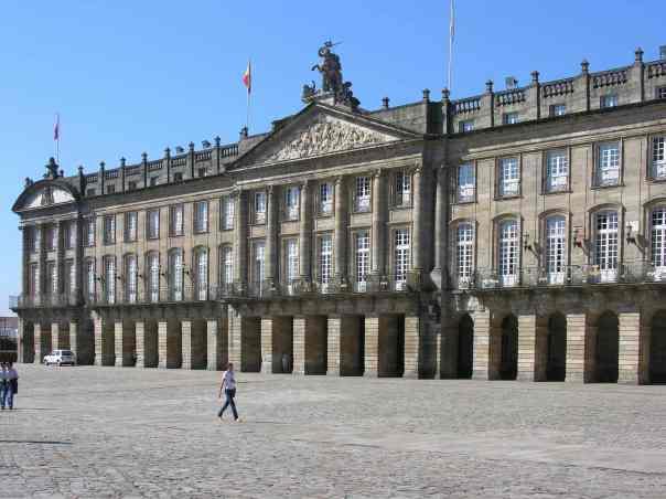 Pazo de Raxoi - Ayuntamiento de Santiago de Compostela.